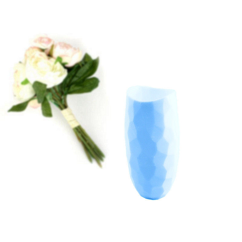 Waterproof Home Decor Durable Vases , Eco - Friendly Material Decorative Flower Vase